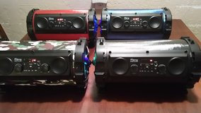 BLUETOOTH rechargeable speakers in Lawton, Oklahoma