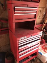 Red General Toolbox in Las Cruces, New Mexico
