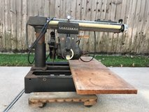 Craftsman radial arm saw with table stand in Kingwood, Texas