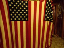 108 STARS AND STRIPES DOUBLE THICK THROW in Fort Hood, Texas
