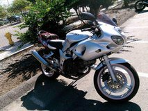 2002 Suzuki SV650S in Camp Pendleton, California
