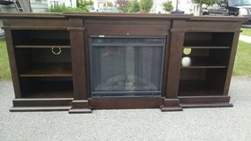 Fireplace Entertainment Center in Fort Drum, New York