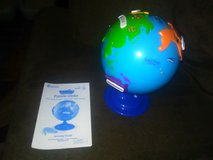 Puzzle globe in Camp Lejeune, North Carolina