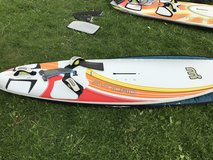 Windsurfing sails and boards in Naperville, Illinois