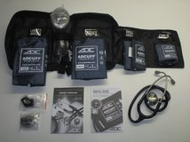 ADC Multikuf 732 4 Cuff EMT Kit with 804 Portable Palm Aneroid Sphygmomanometer in Camp Pendleton, California
