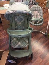 stroller and swing set in Alamogordo, New Mexico