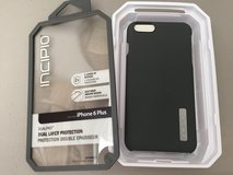 INCIPIO brand iPhone 6 Plus DUALPRO phone case - GRAY (dual layer - max protection) in Stuttgart, GE