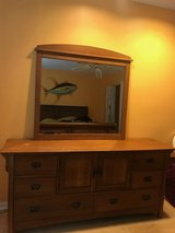Large Bassett Dresser and Mirror in Beaufort, South Carolina