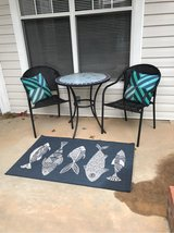 Patio table set 2 chairs and pillows in Fort Bragg, North Carolina