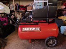 craftsman air compressor 5.5hp 20 gal in Plainfield, Illinois