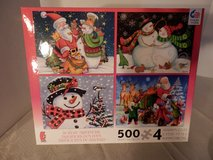 Brand New Set of 4 - 500 piece Puzzles in Joliet, Illinois