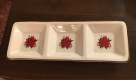 3 Section X-Mas Dish in St. Charles, Illinois