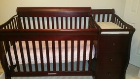 Crib and Changing Table in Kingwood, Texas