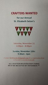 CRAFTERS WANTED for Upcoming Craft Fair in Naperville, Illinois