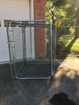 """Chain link dog kennel 48"""" x 41"""" x 4'9"""" tall in Clarksville, Tennessee"""