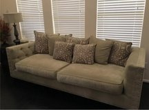 couch and pillows in Spring, Texas