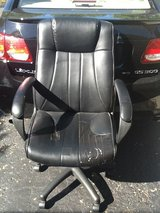 Office chair   Black. Swivels.  Adjustable. Taped areas in Naperville, Illinois