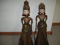 "2 MARIONETTES/29"" INDIA (puppets) in Morris, Illinois"