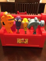 Handy Manny talking tool box in Glendale Heights, Illinois