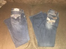 Miss Me and Amethyst jeans in Fort Campbell, Kentucky