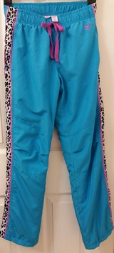 Children's Place size 10 sweatpants blue with cheetah print on sides in Naperville, Illinois