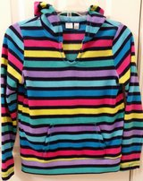 Girls size 10/12 Children's Place fleece pullover with hood in Glendale Heights, Illinois