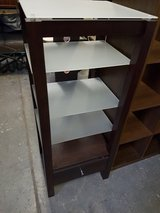 tall unit with glass shelves and one drawer in Lakenheath, UK