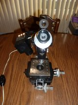 BAUSCH & LOMB Machinist Toolmakers MICROSCOPE MICROMETER X-Y STAGE B&L Lighted in Bolingbrook, Illinois