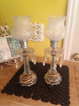 set two vintage buffet lamps in Fort Benning, Georgia