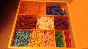 Counting Beads in Glendale Heights, Illinois