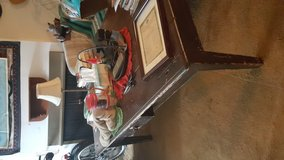 Antique harvest table in Naperville, Illinois