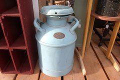 Antique Milk Can in Alamogordo, New Mexico