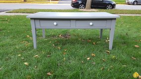 grey coffee table in Naperville, Illinois