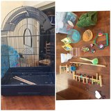 Bird cage and all supplies in Camp Pendleton, California