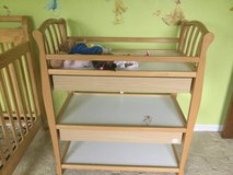 Baby changing table in Naperville, Illinois