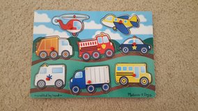 Melissa and Doug Trucks and Cars Puzzle in Aurora, Illinois