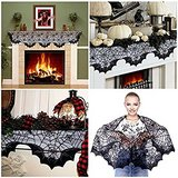 BRAND NEW! Halloween Spider Bats Lace Mantle Scarf in Fort Campbell, Kentucky