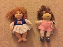 Soft Ty cheerleader and DW doll in Elgin, Illinois