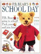 P.B. Bear's School Day (Pajama Bedtime) Over Sized Hard Cover Book in Joliet, Illinois