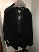 Suede Leather Jacket 3x New in Chicago, Illinois