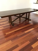 Solid Pecan Dinning Room Trestle Table in Pearland, Texas