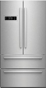 Counter-Depth Stainless French Door Refrigerator in Fort Lewis, Washington