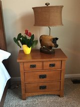 Bedside table in Naperville, Illinois