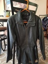 Leather jacket in St. Charles, Illinois