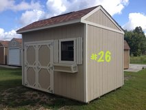 10x12 Garden Shed Storage Building Shed Pre-owned!!! in Moody AFB, Georgia
