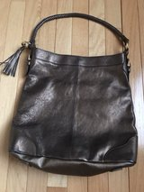 Bronze Metallic Leather Shoulder Bag in Naperville, Illinois