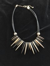 Chico's Black and Gold Necklaces in Naperville, Illinois