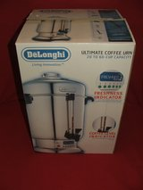 DeLonghi Ultimate Coffee Urn Commercial Stainless Model DCU72 in Oswego, Illinois