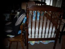 BASSETT BABY CRIB (COMPLETE) (Regulated) & much more! in Fort Eustis, Virginia