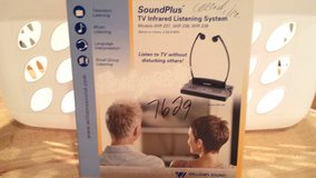 Williams Soundplus TV Infrared Listening System WIR 238 in Schaumburg, Illinois